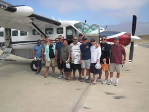 Flights to Cedros Island