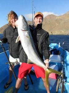 Cedros Outdoor Adventures yellowtail fishing Mexico Baja California